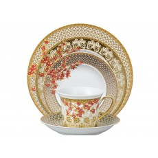 Royal Crown Derby Gold Aves Five Piece Place Setting