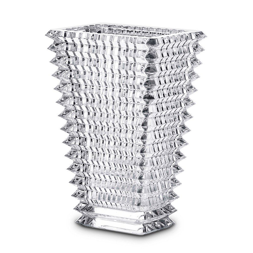 Baccarat crystal small rectangular eye vase baccarat crystal small square eye vase reviewsmspy