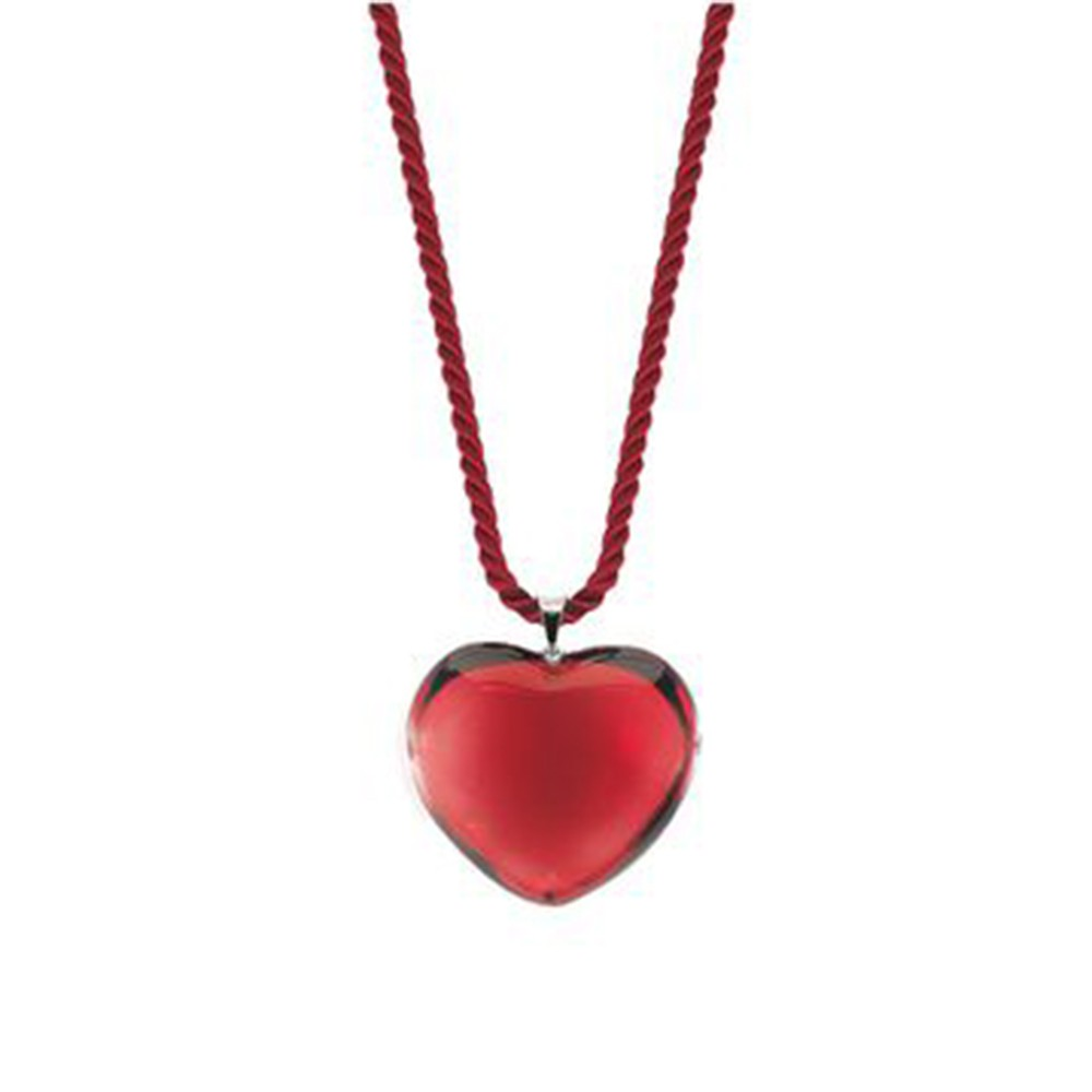 Baccarat crystal ruby heart necklace mozeypictures Gallery