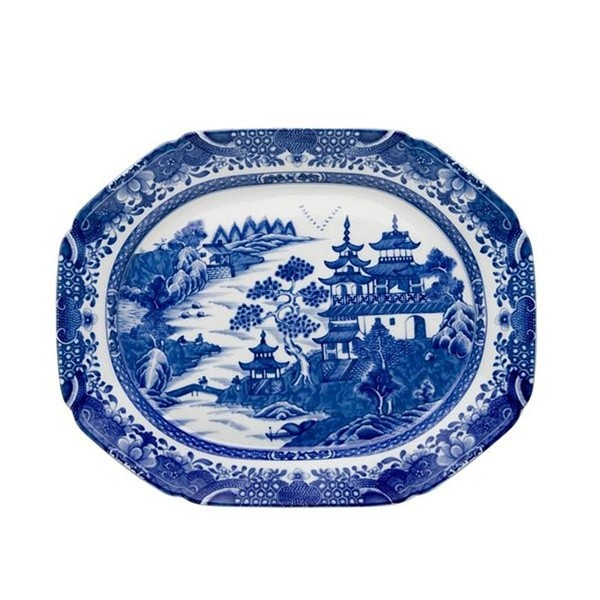 Mottahedeh Blue Canton Medium Platter