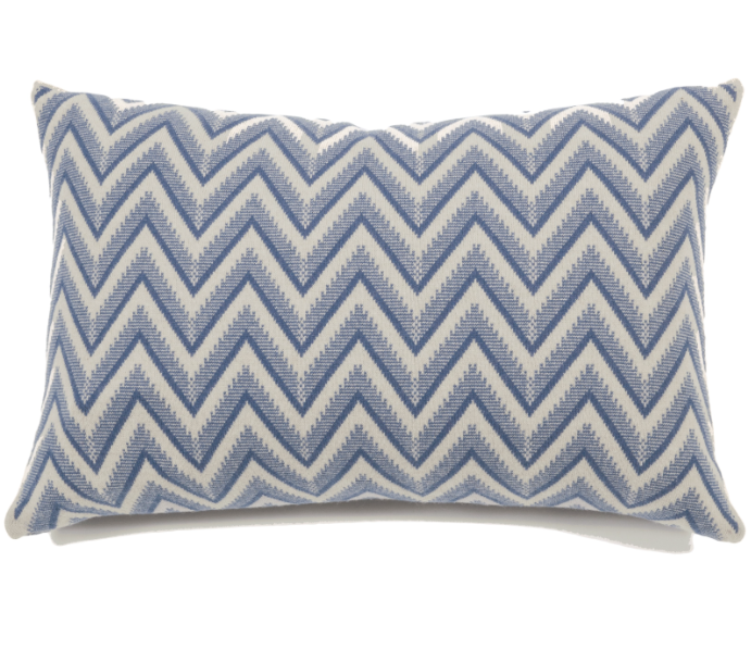 Rani Arabella Dillon Cashmere Pillow, Denim