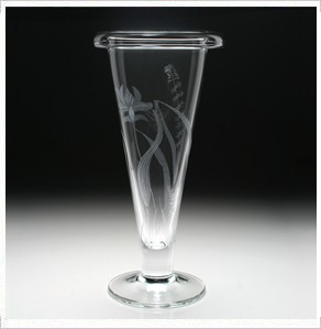 William Yeoward Meadow Trumpet Vase, Medium