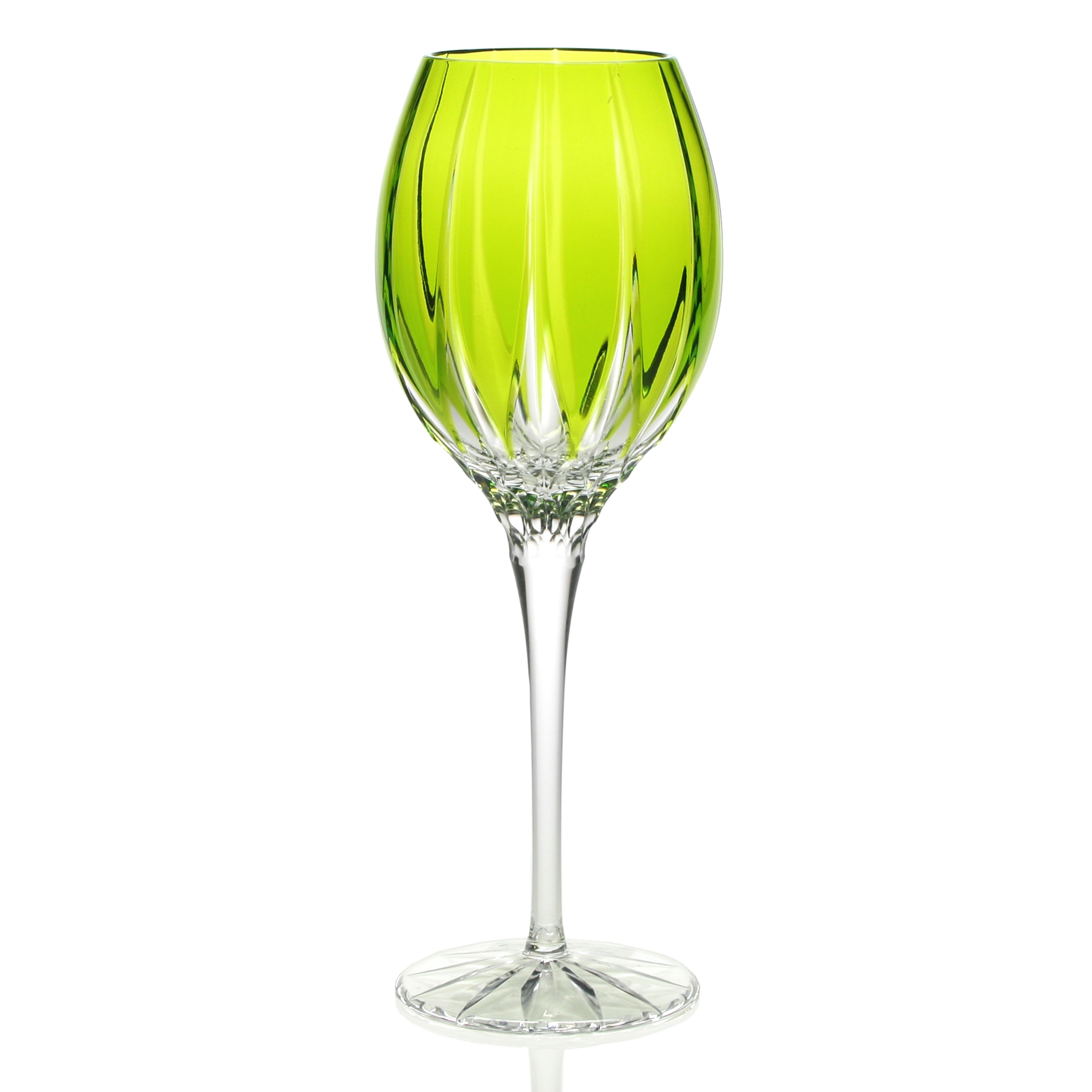 William Yeoward Crystal Vita Green Goblet