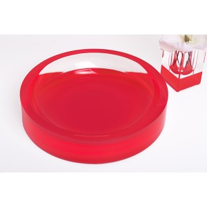 AVF Acrylic Infinity Bowl, Red