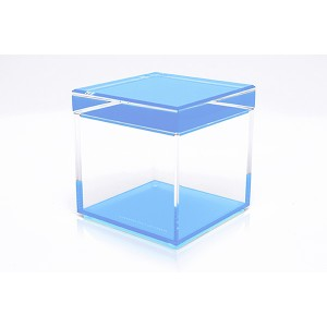 AVF Acrylic Cubic Treasure Box, Blue