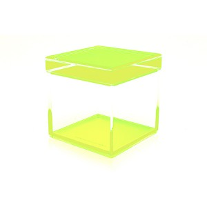 AVF Acrylic Cubic Treasure Box, Green