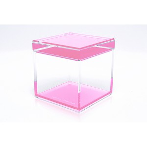 AVF Acrylic Cubic Treasure Box, Rose