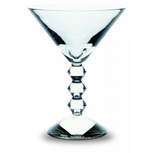 Baccarat Crystal Vega Martini Glass, Set/2