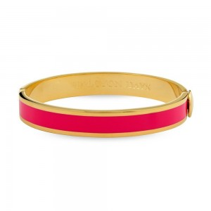 Halcyon Days Berry/Gold Bangle