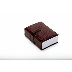Brown Croc Leather Think Pad