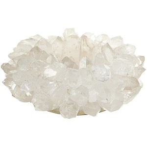 Clear Quartz Votive, Large
