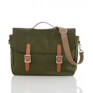 Men's Satchel Bag, Green