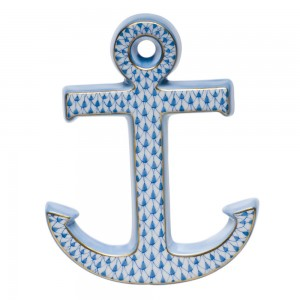 Herend Anchor, Blue