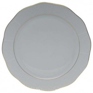 Herend Golden Edge Round Platter