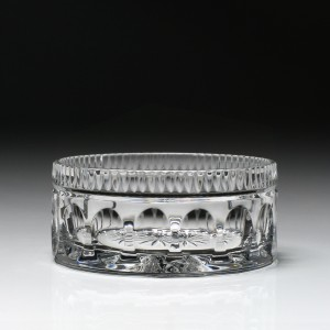 William Yeoward Crystal Kathleen Wine Bottle Coaster