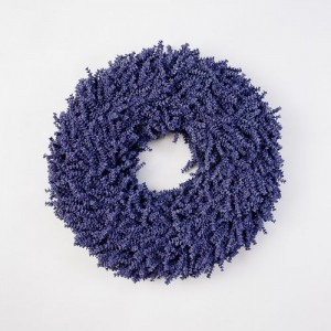 Faux Lavender Wreath