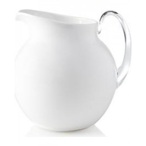 White Acrylic Pitcher