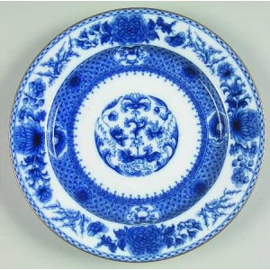 Mottahedeh Imperial Blue Bread and Butter Plate