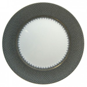 Mottahedeh Black Lace Service Plate