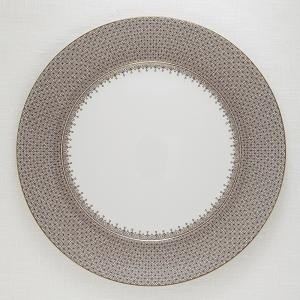 Mottahedeh Brown Lace Service Plate