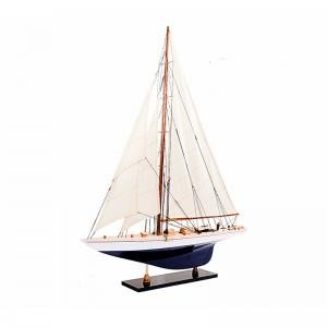 Wooden Sailboat Model