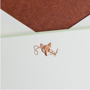 Printery Fox Note Cards