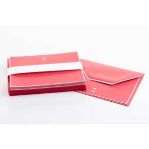 Sugar Paper Red Cherry Note Cards