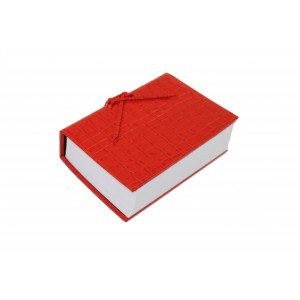 Red Leather Croc Think Pad