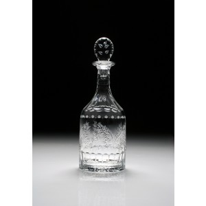William Yeoward Crystal Fern Decanter Bottle