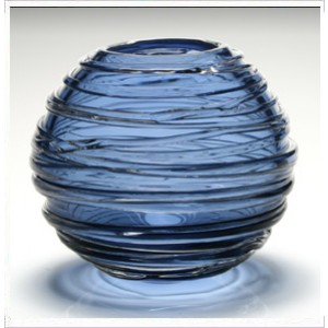 William Yeoward Blue Sophie Vase, Medium