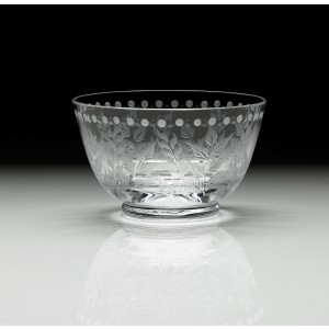 William Yeoward Crystal Fern Berry Bowl