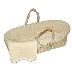 Cream Moses Basket