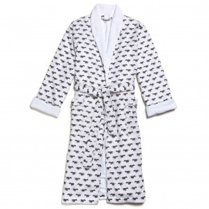 Marigot Zebra Robe, Medium