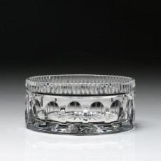 William Yeoward Crystal Square Footed Vase