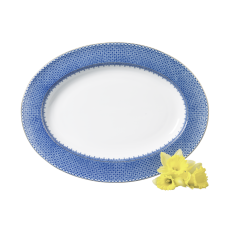 Herend Fish Scale Light Blue Salad Plate