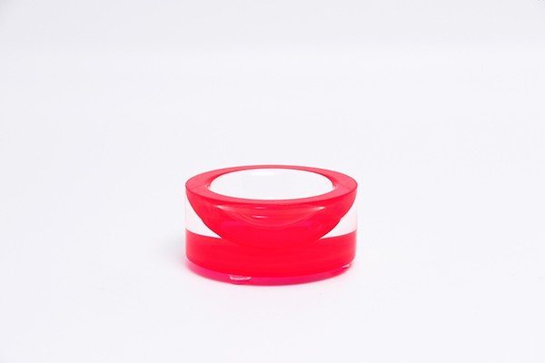 AVF Acrylic Mini Infinity Bowl, Red