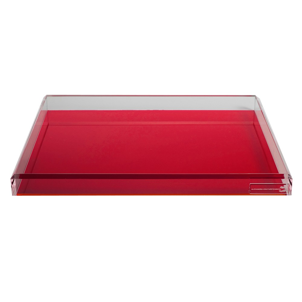 AVF Cocktail Tray, Red