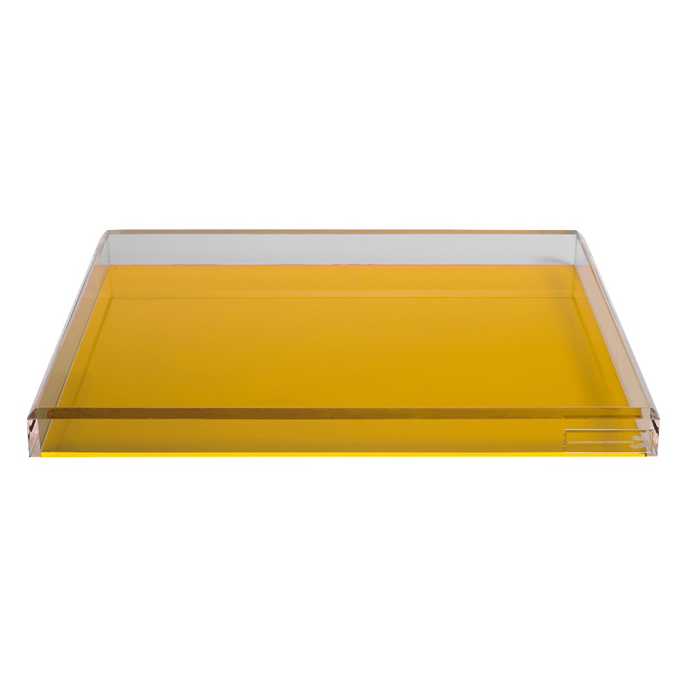 AVF Cocktail Tray, Yellow