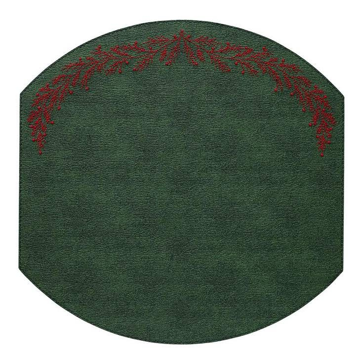 Bodrum Holly Forest Red Placemats
