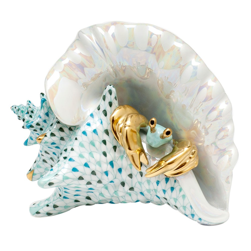 Herend Reserve Collection Conch Shell