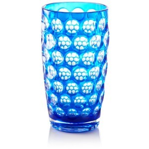 Acrylic Highball Glass, Royal Blue