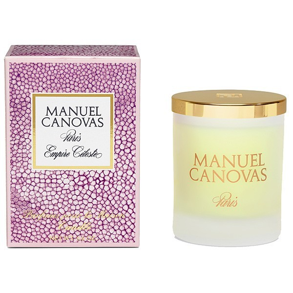 Manuel Canovas Empire Celeste Candle, Medium