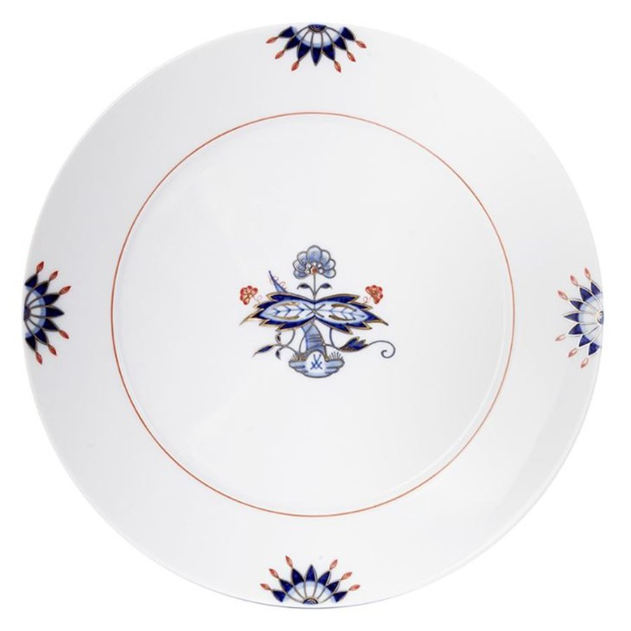 Meissen Noble Blue Salad Plate