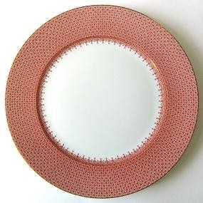 Mottahedeh Red Lace Service Plate