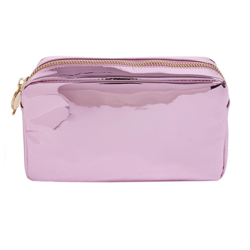 Stoney Clover Small Pouch, Pink Patent