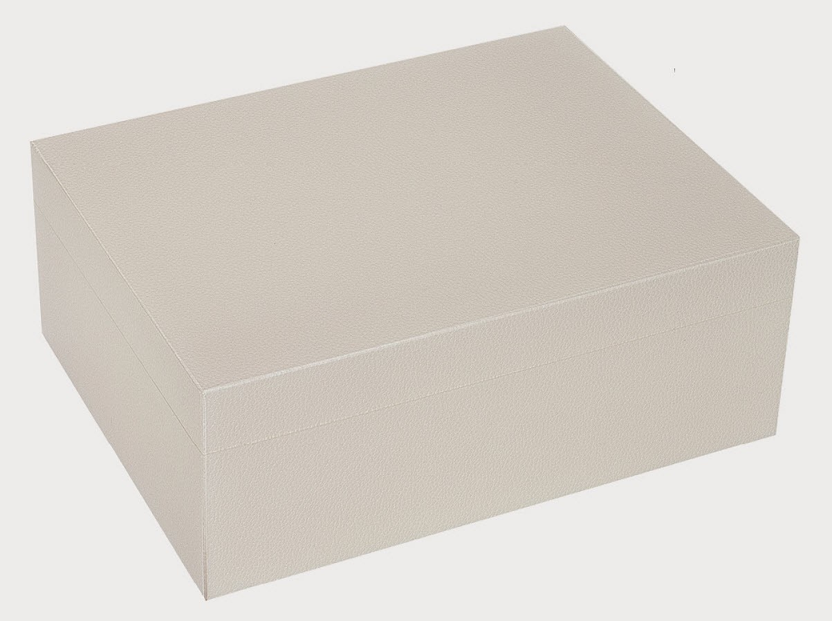 Lacquered Shagreen Box, Ivory