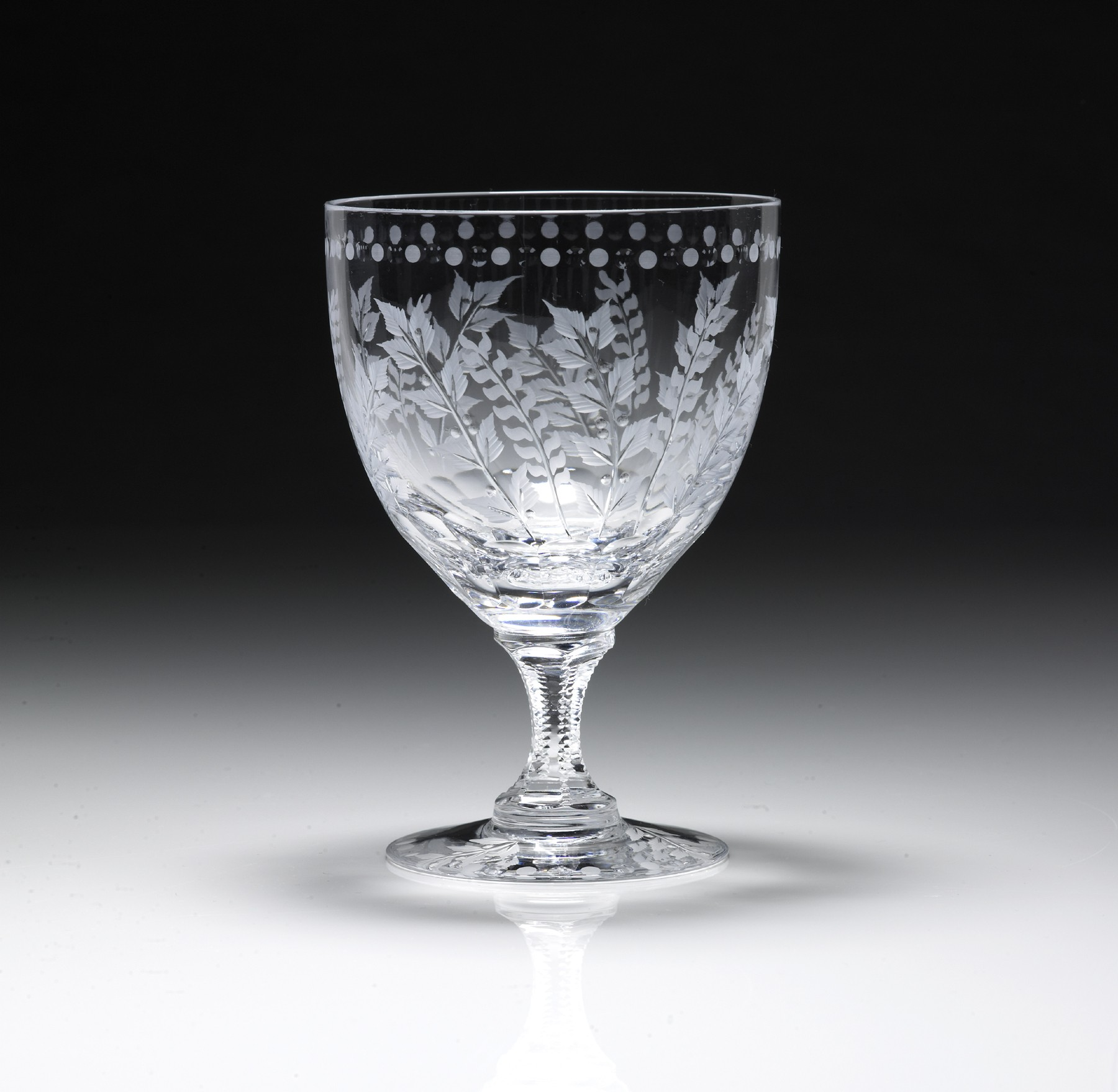 William Yeoward Crystal Fern Large Wine Glass