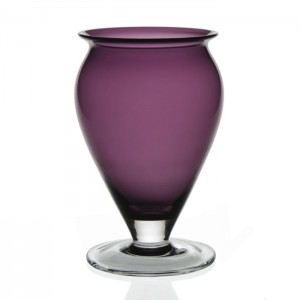 WILLIAM YEOWARD AMETHYST VASE