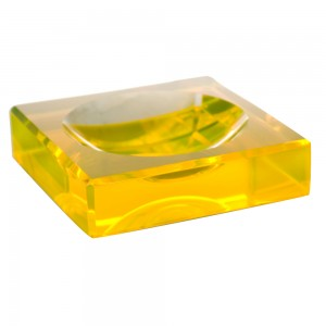 AVF Acrylic Chiclet Bowl, Yellow