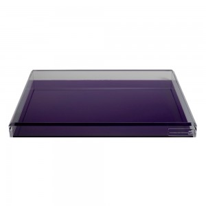 AVF Cocktail Tray, Amethyst